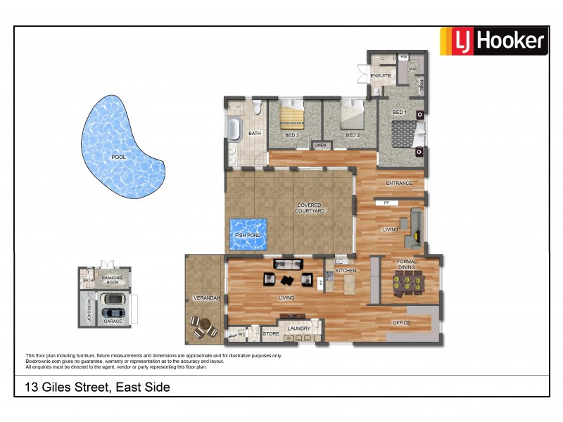 13 Giles Street, East Side NT 0870 Floorplan