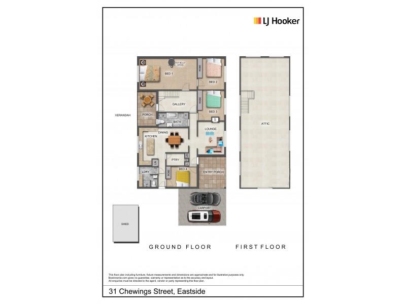 31 Chewings Street, East Side NT 0870 Floorplan