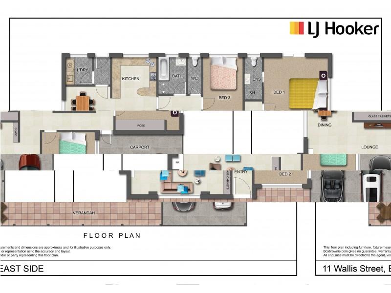 11 Wallis Street, East Side NT 0870 Floorplan
