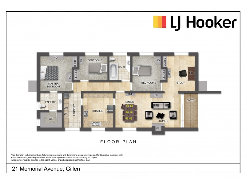 21 Memorial Avenue, Gillen NT 0870 Floorplan