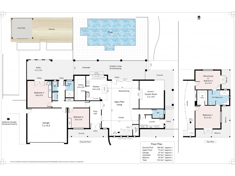 158 Nicholls Road, Cooltong SA 5341 Floorplan