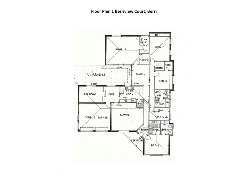 1 Berriview Court, Berri SA 5343 Floorplan