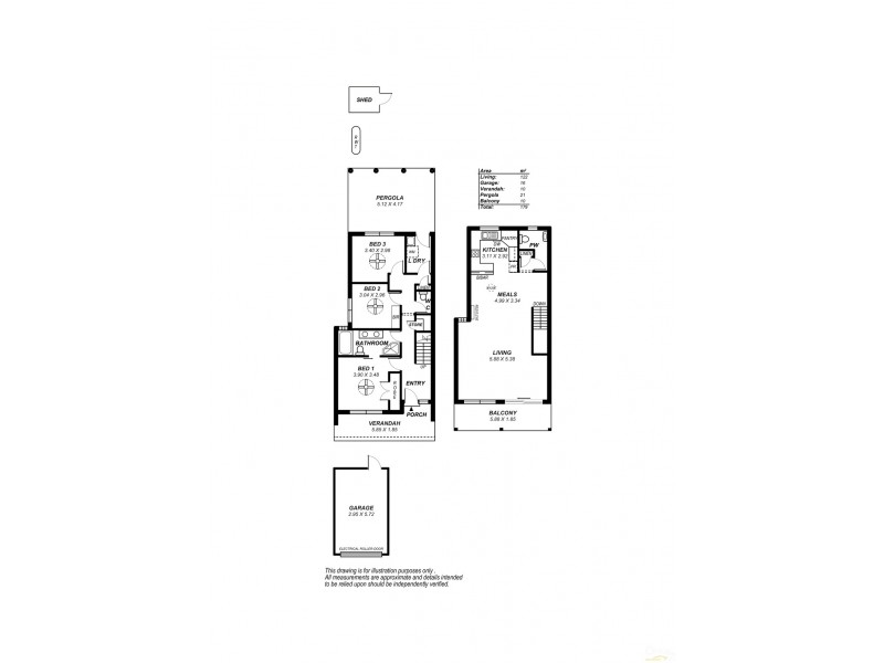 2/42 Esplanade, Christies Beach SA 5165 Floorplan