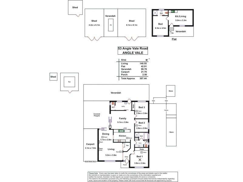 53 Angle Vale Road, Angle Vale SA 5117 Floorplan