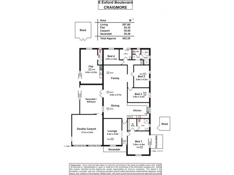 6 Exford Boulevard, Craigmore SA 5114 Floorplan