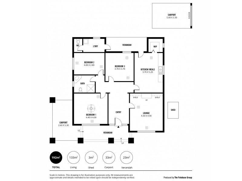296 Glynburn Road, Kensington Gardens SA 5068 Floorplan