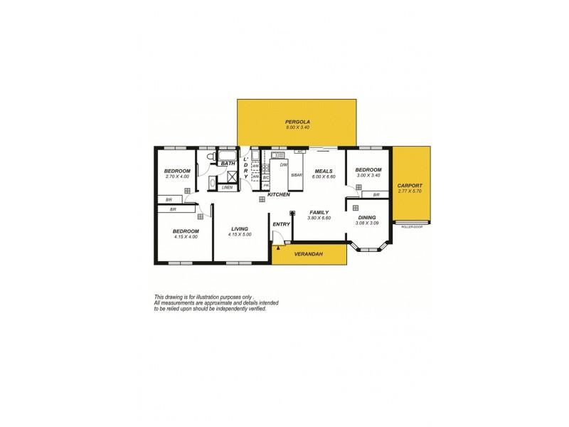 15A Wembley Avenue, Hectorville SA 5073 Floorplan