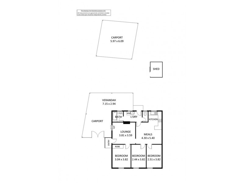 17 Dover Street, Blair Athol SA 5084 Floorplan
