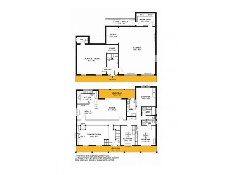 62 Montacute Road, Hectorville SA 5073 Floorplan