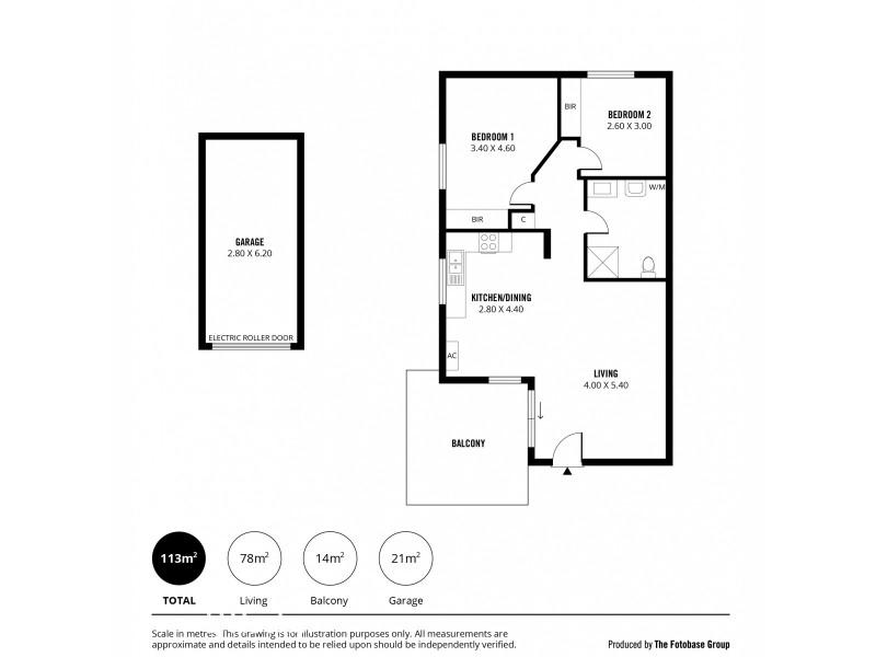 41/6-24 Winona Street, Findon SA 5023 Floorplan