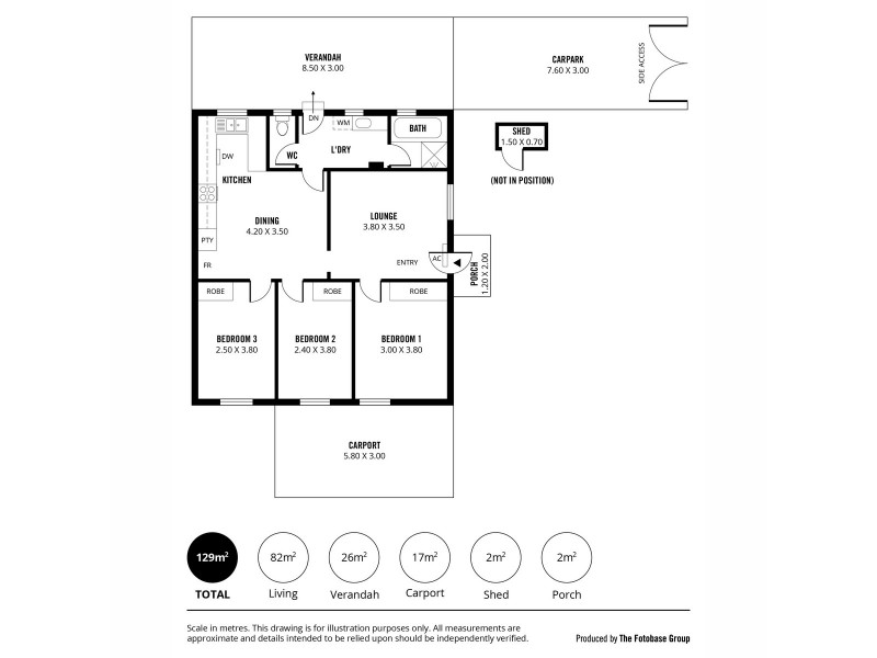 37B Ross Road, Hectorville SA 5073 Floorplan