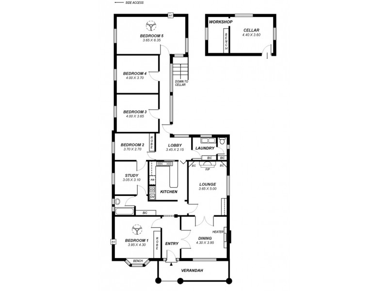 64A Braund Road, Prospect SA 5082 Floorplan
