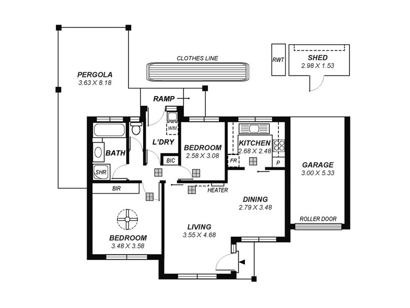 5/14 Rhyne Avenue, Salisbury SA 5108 Floorplan