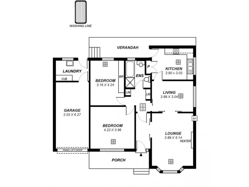 5A Undelcarra Road, Burnside SA 5066 Floorplan