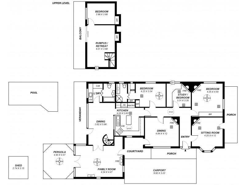 25 Dulwich Avenue, Dulwich SA 5065 Floorplan