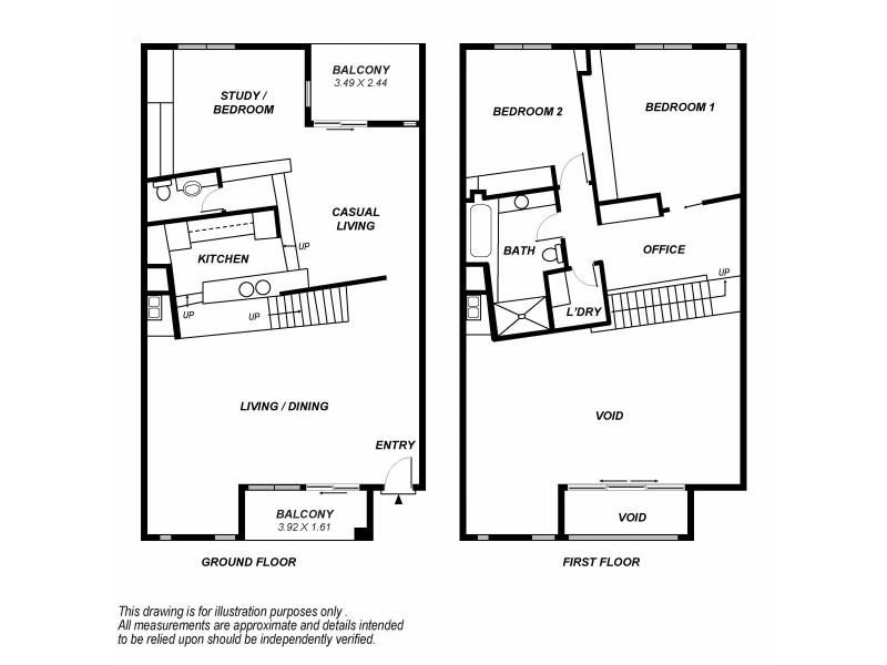 35/237 Wakefield Street, Adelaide SA 5000 Floorplan