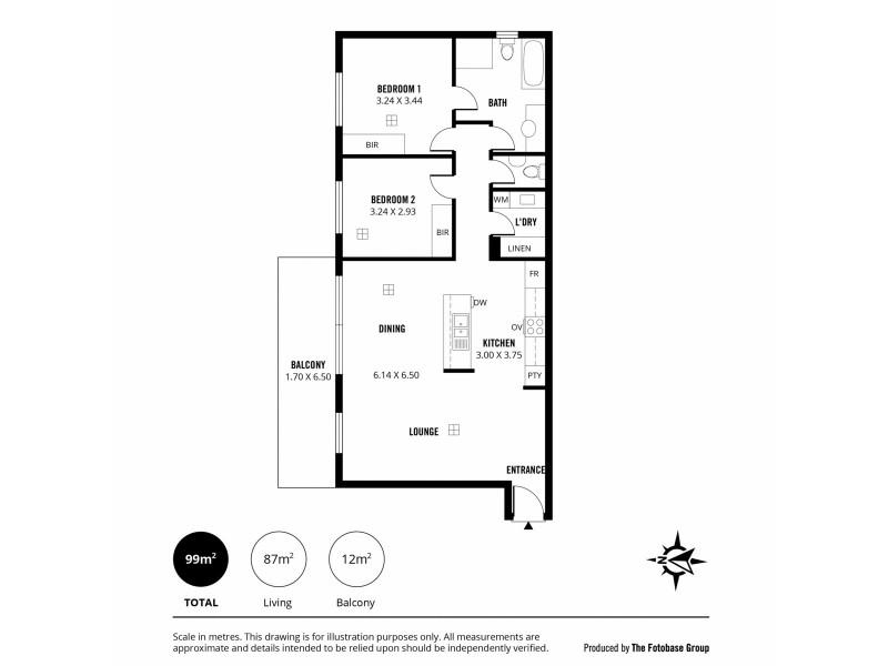 109/25 Warner Avenue, Findon SA 5023 Floorplan