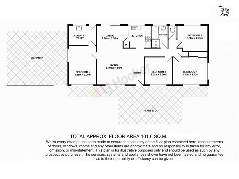 90 Silkwood Street, Algester QLD 4115 Floorplan