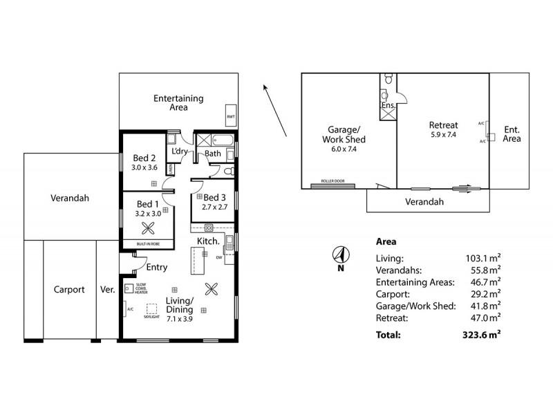 51 Baker Street, Littlehampton SA 5250 Floorplan