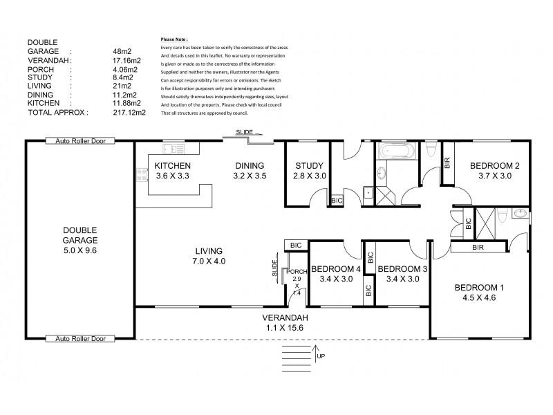 4 Stirling Road, Nairne SA 5252 Floorplan