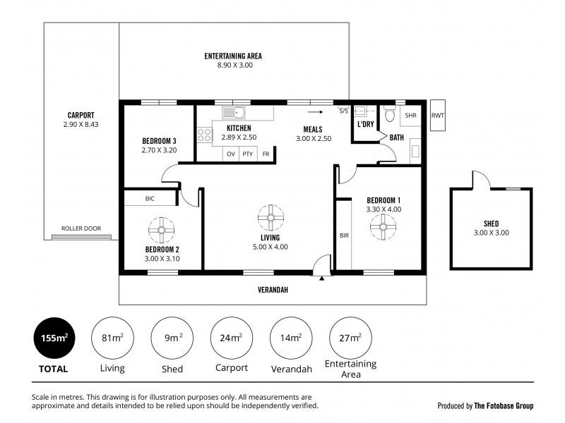 2 Ibis Court, Mount Barker SA 5251 Floorplan