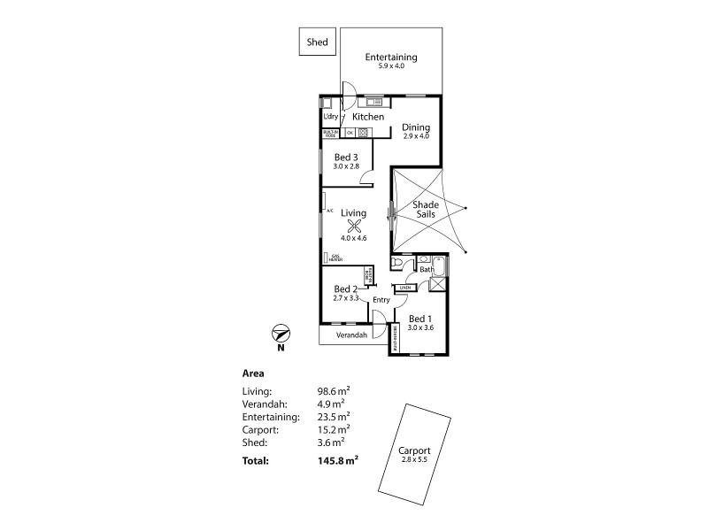 2/9 North Terrace, Littlehampton SA 5250 Floorplan