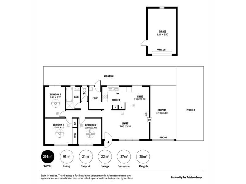 8 Rustic Grove, Andrews Farm SA 5114 Floorplan