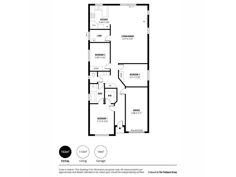 8 Decimal Road, Salisbury North SA 5108 Floorplan
