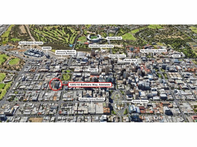 1205/10 Balfours Way, Adelaide SA 5000