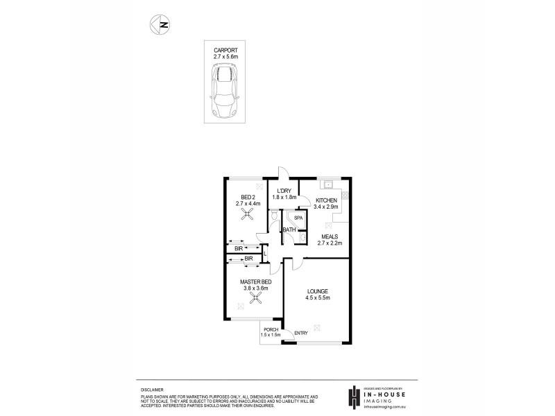 1/394 Glynburn Road, Kensington Gardens SA 5068 Floorplan