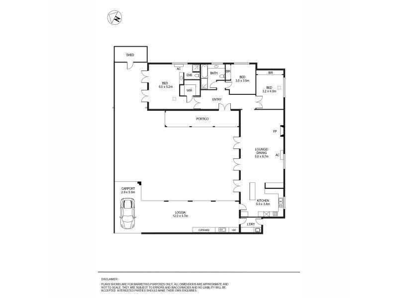 6a The Crescent, Marryatville SA 5068 Floorplan