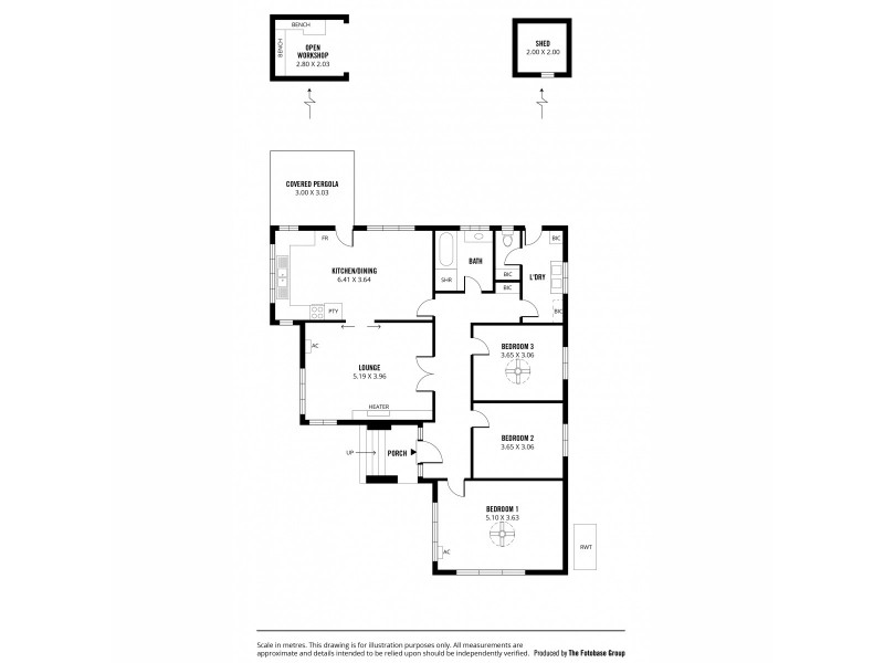 3 Radnor Avenue, Rostrevor SA 5073 Floorplan
