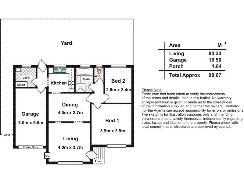 31 Montebello Drive, Salisbury SA 5108 Floorplan