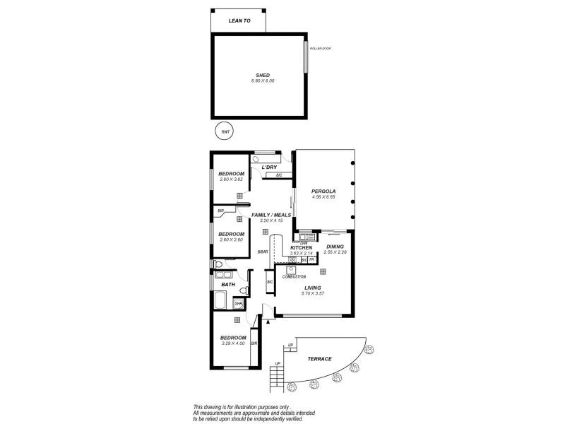 82 Emmett Road, Crafers West SA 5152 Floorplan