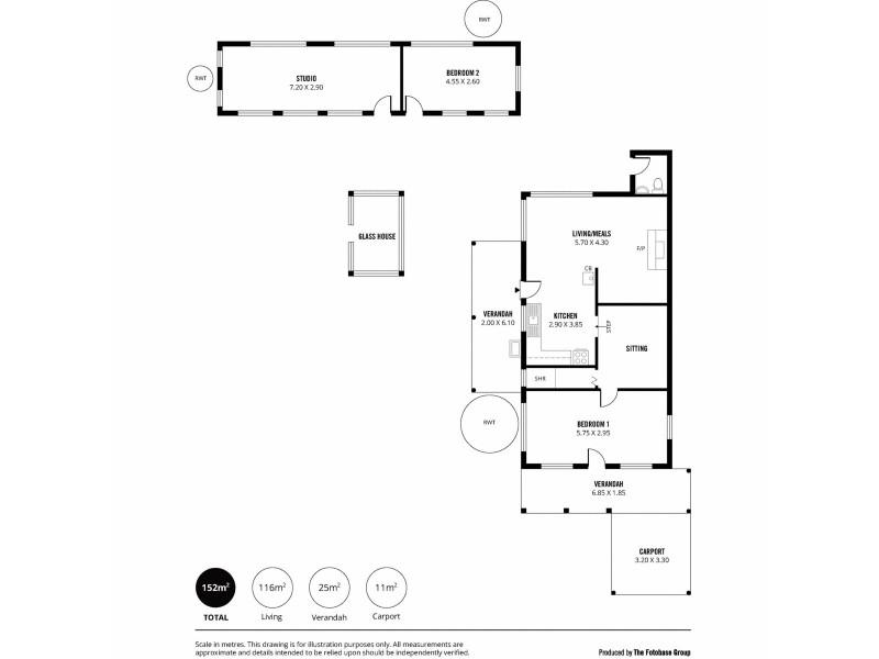 14 Silver Lake Road, Mylor SA 5153 Floorplan