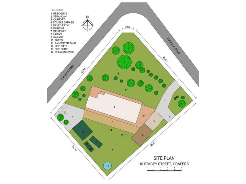 10 Stacey Street, Crafers SA 5152 Floorplan