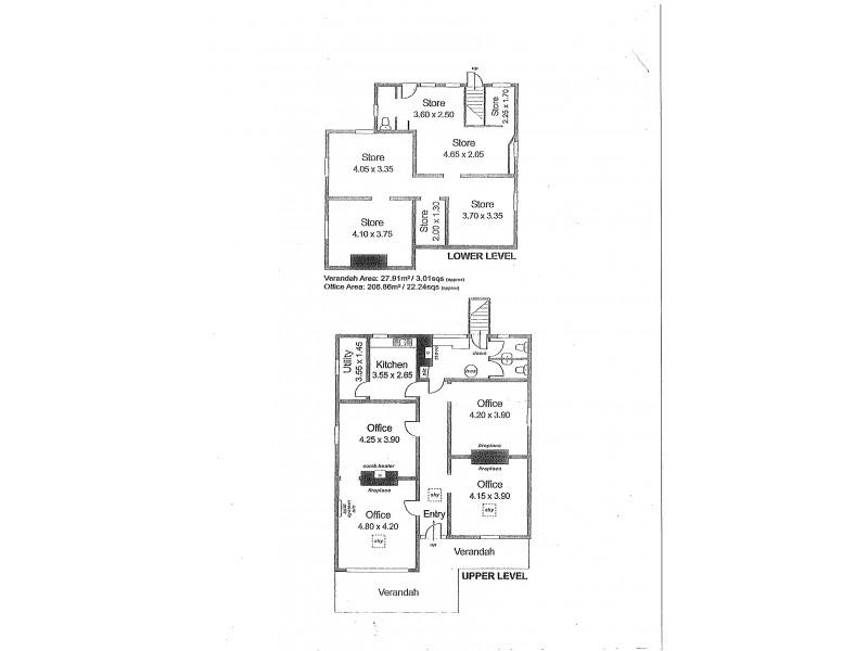 7 Druid Avenue, Stirling SA 5152 Floorplan