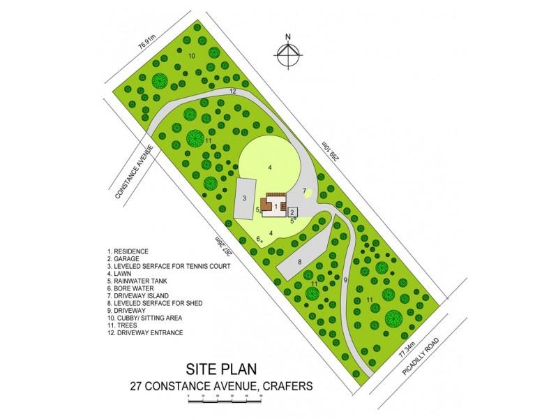 27 Constance Avenue, Crafers SA 5152 Floorplan