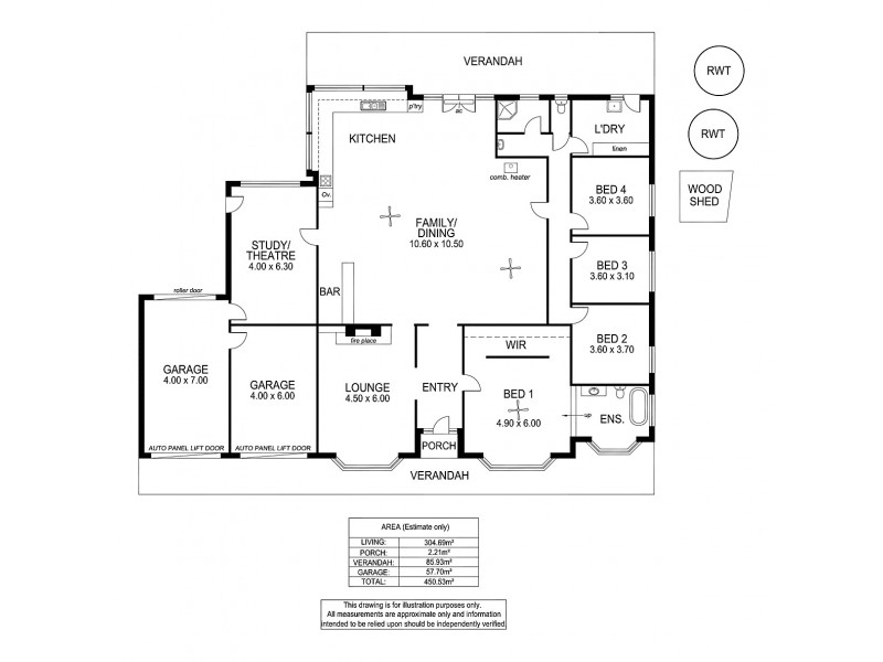 30 Gollan Avenue, Strathalbyn SA 5255 Floorplan