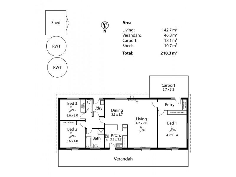 1A Brahma Court, Strathalbyn SA 5255 Floorplan