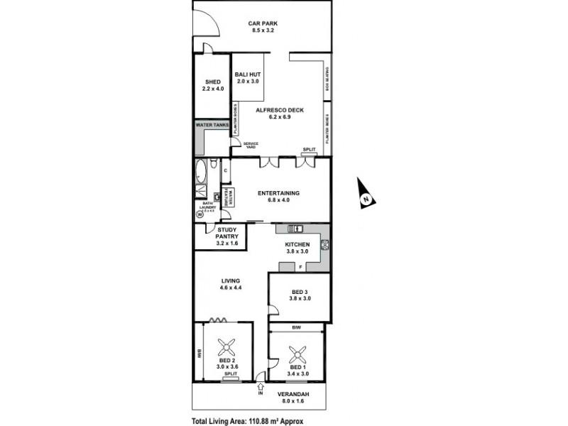 26 Maxwell Street, Adelaide SA 5000 Floorplan