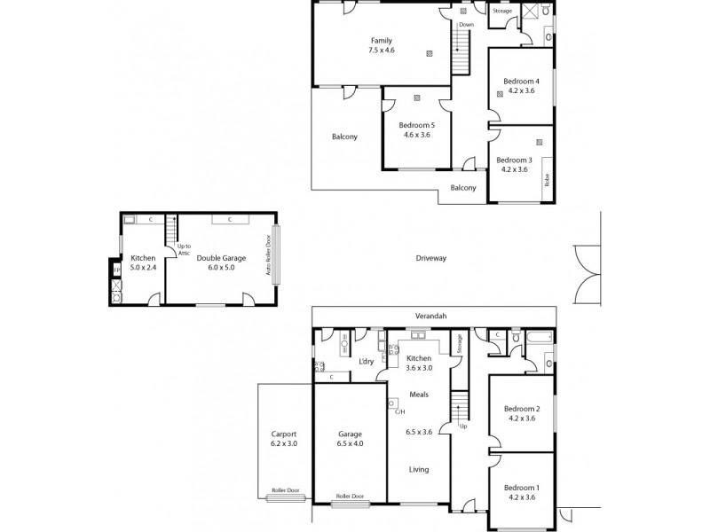592 Greenhill Road, Burnside SA 5066 Floorplan