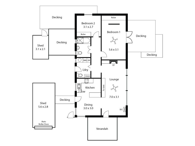 63 Gardner Street, Camden Park SA 5038 Floorplan