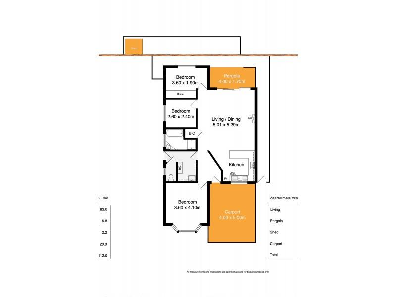 2/36 Kingdon Place, Goolwa SA 5214 Floorplan