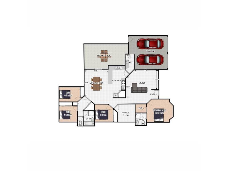 12 Sunningdale Drive, Redland Bay QLD 4165 Floorplan