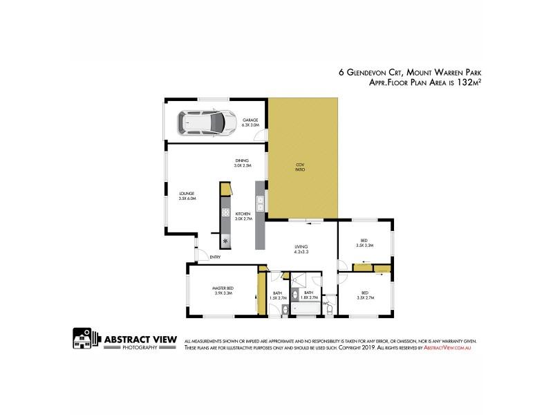 6 Glendevon Crescent, Mount Warren Park QLD 4207 Floorplan