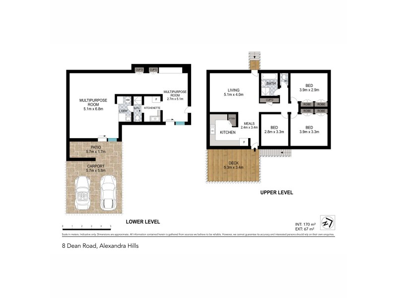 8 Dean Road, Alexandra Hills QLD 4161 Floorplan