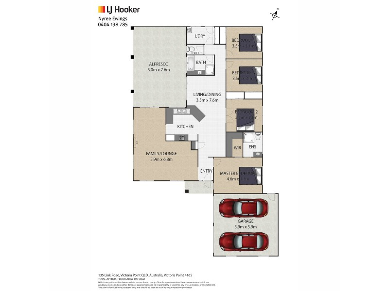 135 Link Road, Victoria Point QLD 4165 Floorplan