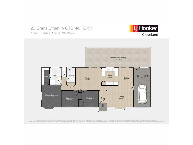 20 Orana Street, Victoria Point QLD 4165 Floorplan