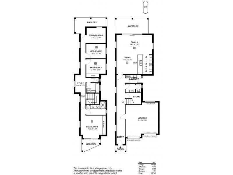 3A Collins Street, Collinswood SA 5081 Floorplan